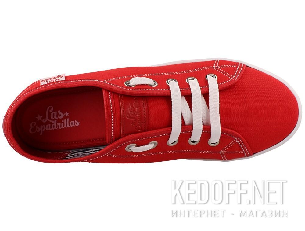 Кеди Las Espadrillas 5099-47 унісекс (червоний) в магазині взуття ... 68317606ca160
