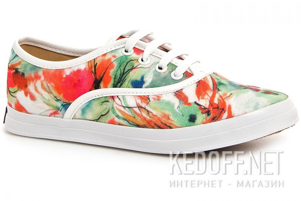 Купить Текстильная обувь Las Espadrillas 513-222 унисекс   (зеленый/красный)
