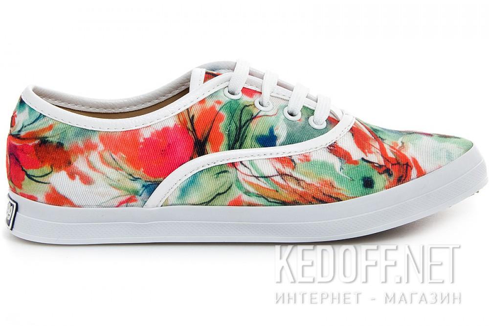 Оригинальные Текстильная обувь Las Espadrillas 513-222 унисекс   (зеленый/красный)