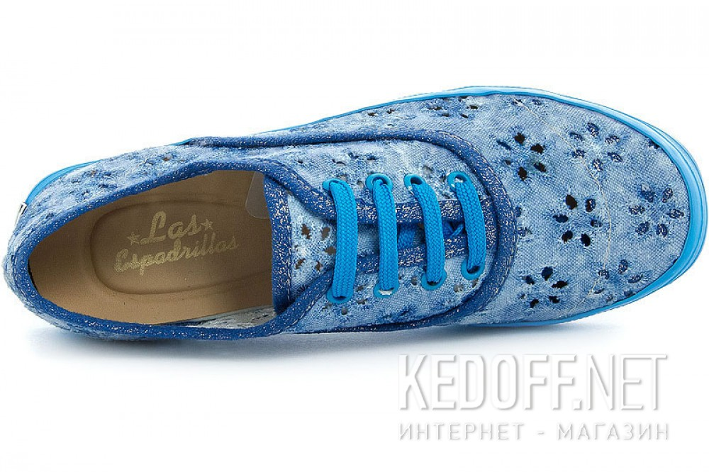 Women's shoes Las Espadrillas 513-42 Blue
