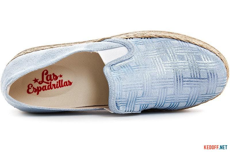 Women's slip ons Las Espadrillas 5224-40 Sl Blue