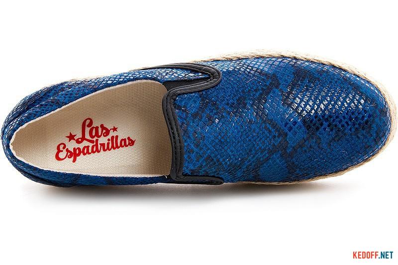 Женские слипоны Las Espadrillas 5228-89 Sl Темносиние