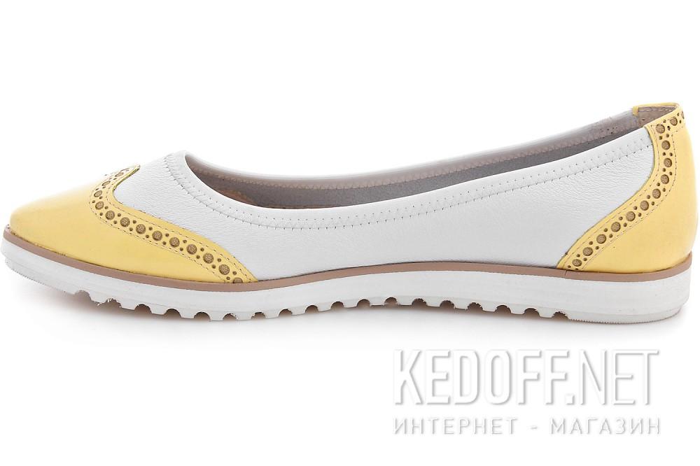 Балетки Las Espadrillas 526905-1321AB унисекс   (жёлтый/белый) купить Украина