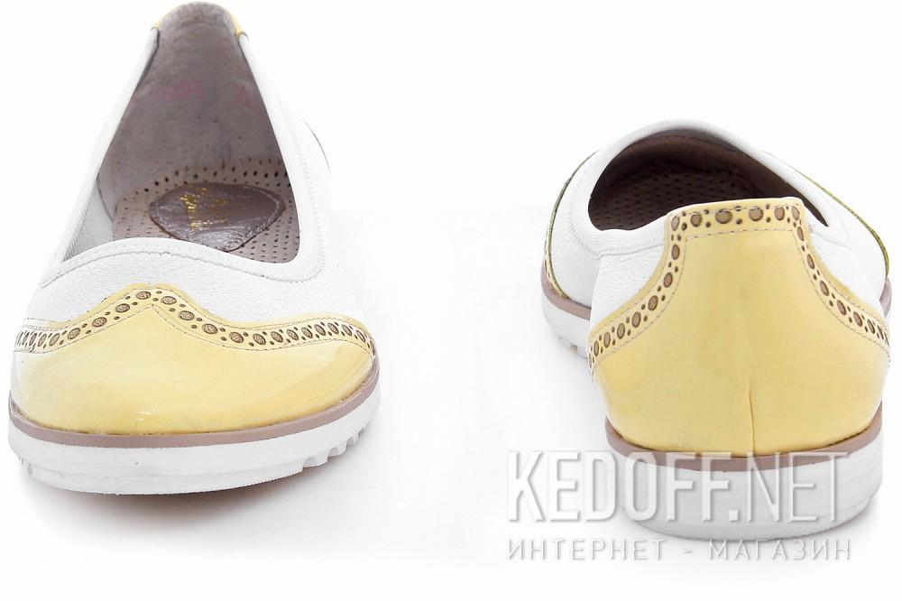 Балетки Las Espadrillas 526905-1321AB унисекс   (жёлтый/белый) купить Киев