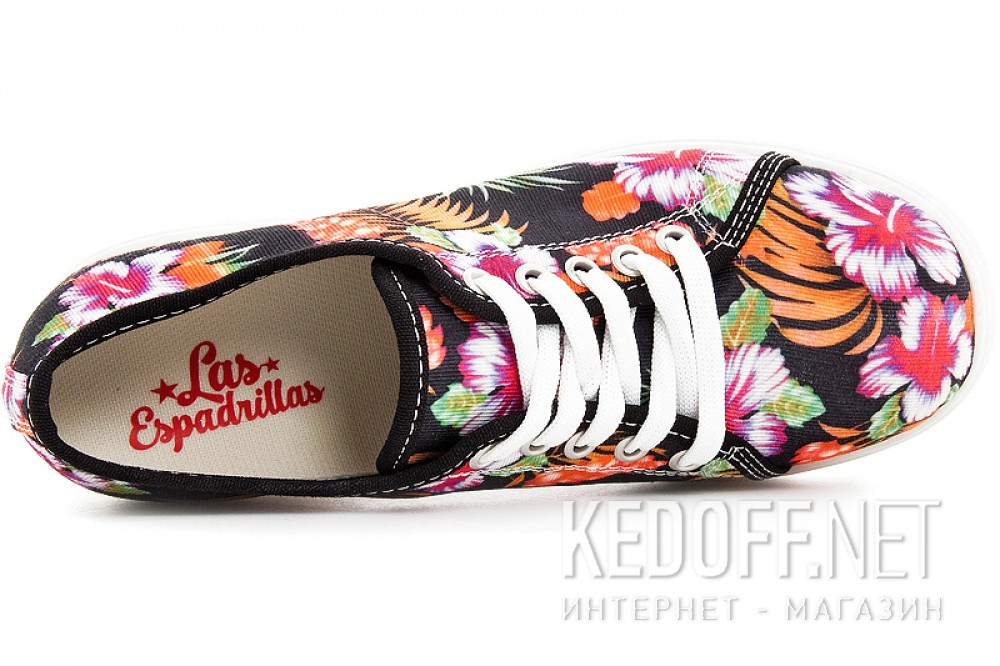 Кеди на каблуках Las Espadrillas 5302-27Sh