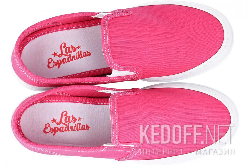 Кеди Las Espadrillas Heel 5718-341