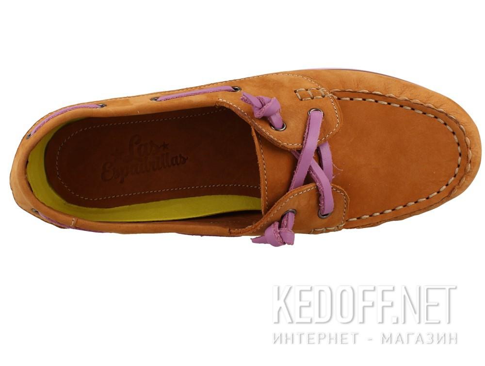 Туфли Las Espadrillas 6001-45 унисекс   (светло-коричневый) описание