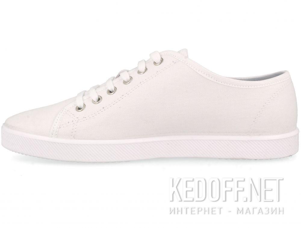 Белые кеды Las Espadrillas All White 6099-1313 купить Киев