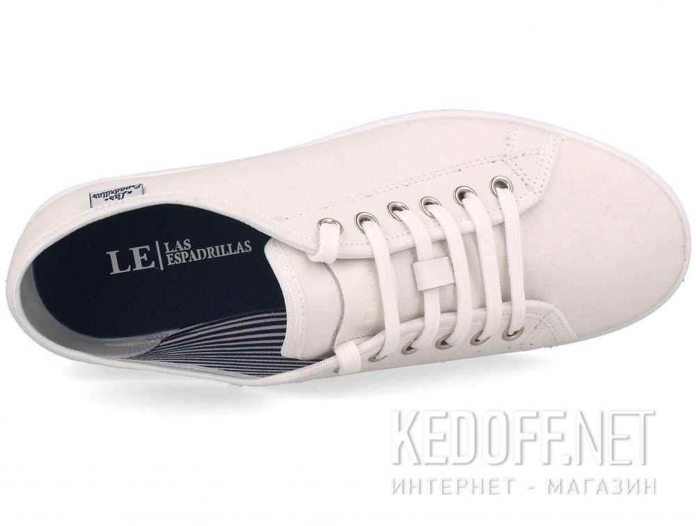 Оригинальные Белые кеды Las Espadrillas All White 6099-1313