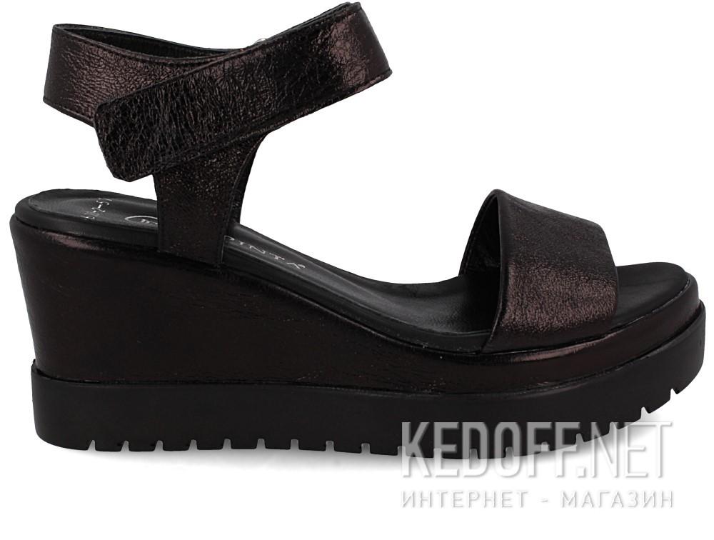 Босоножки Las Espadrillas 620-Z2-57   (чёрный) купить Украина