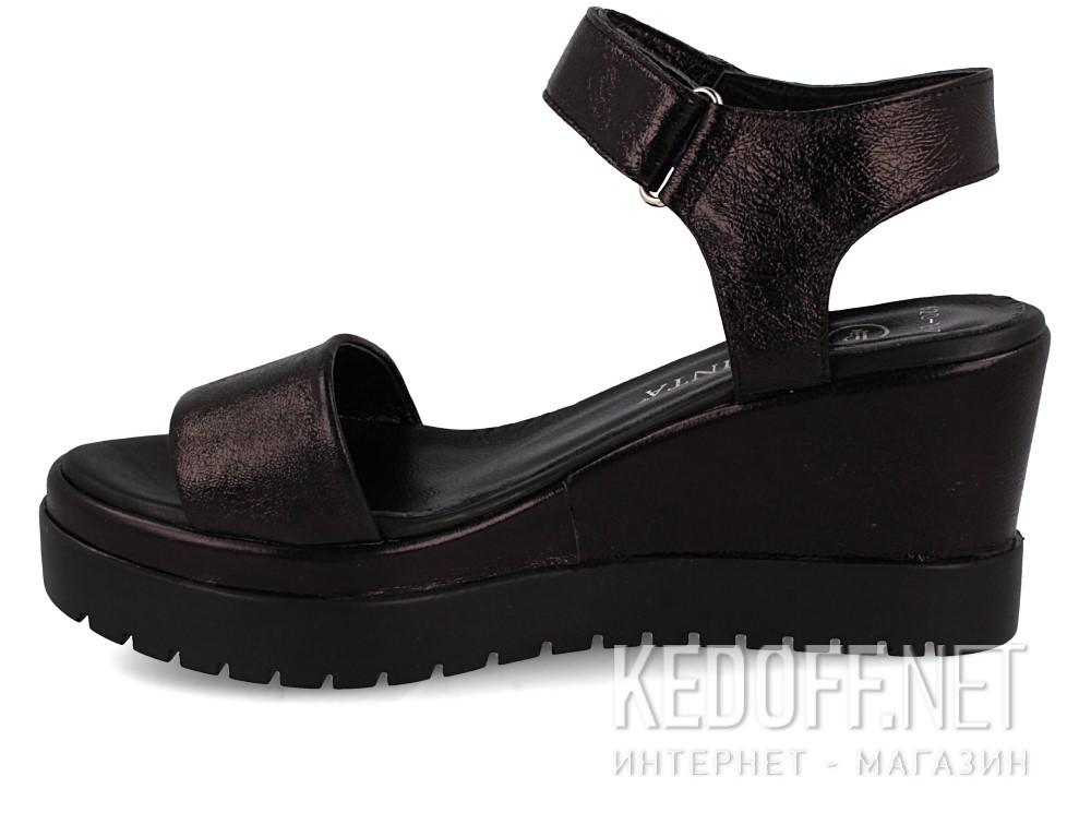 Босоножки Las Espadrillas 620-Z2-57   (чёрный) купить Киев