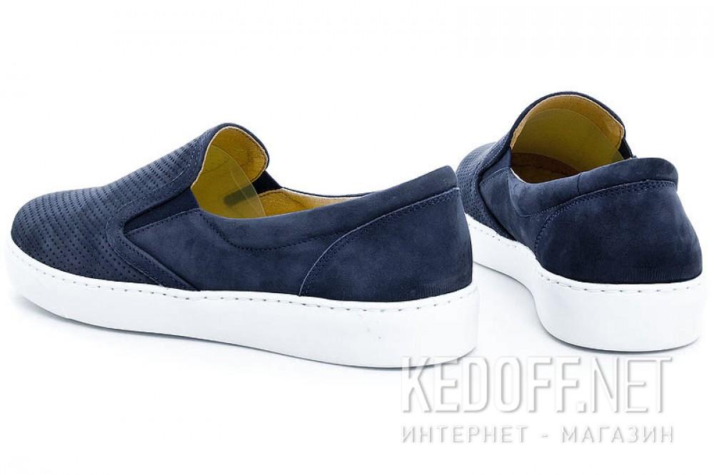Мужские слипоны Las Espadrillas 6225-89SL   (тёмно-синий) купить Украина