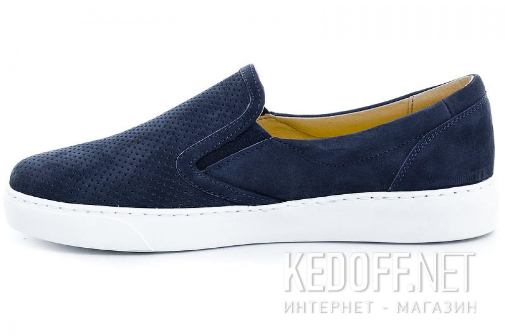 Мужские слипоны Las Espadrillas 6225-89SL   (тёмно-синий) купить Киев