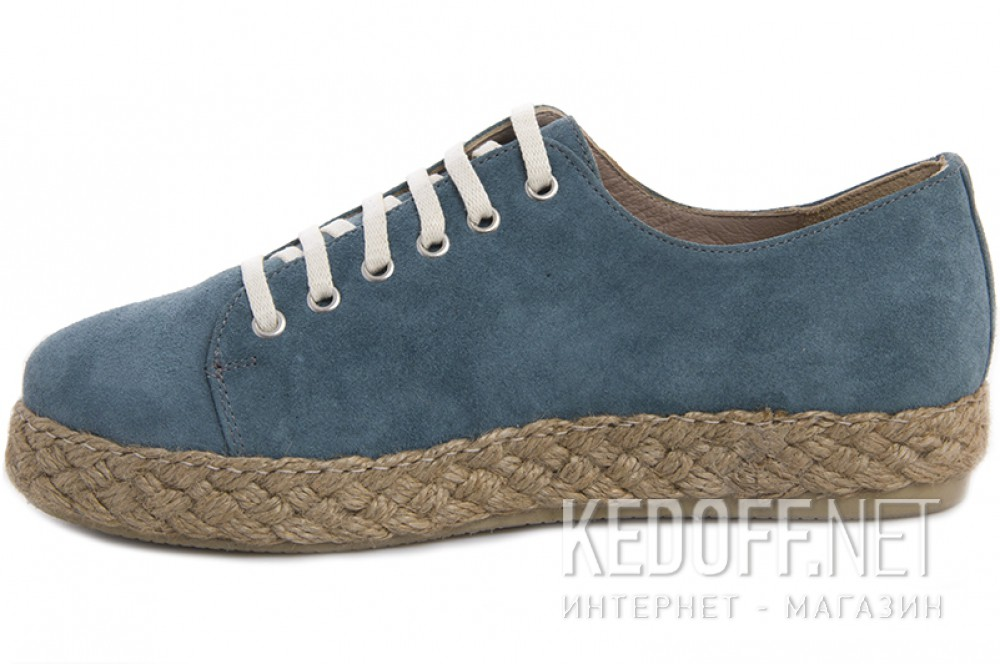 Эспадрильи Las Espadrillas 658203-43 унисекс   (голубой) купить Киев