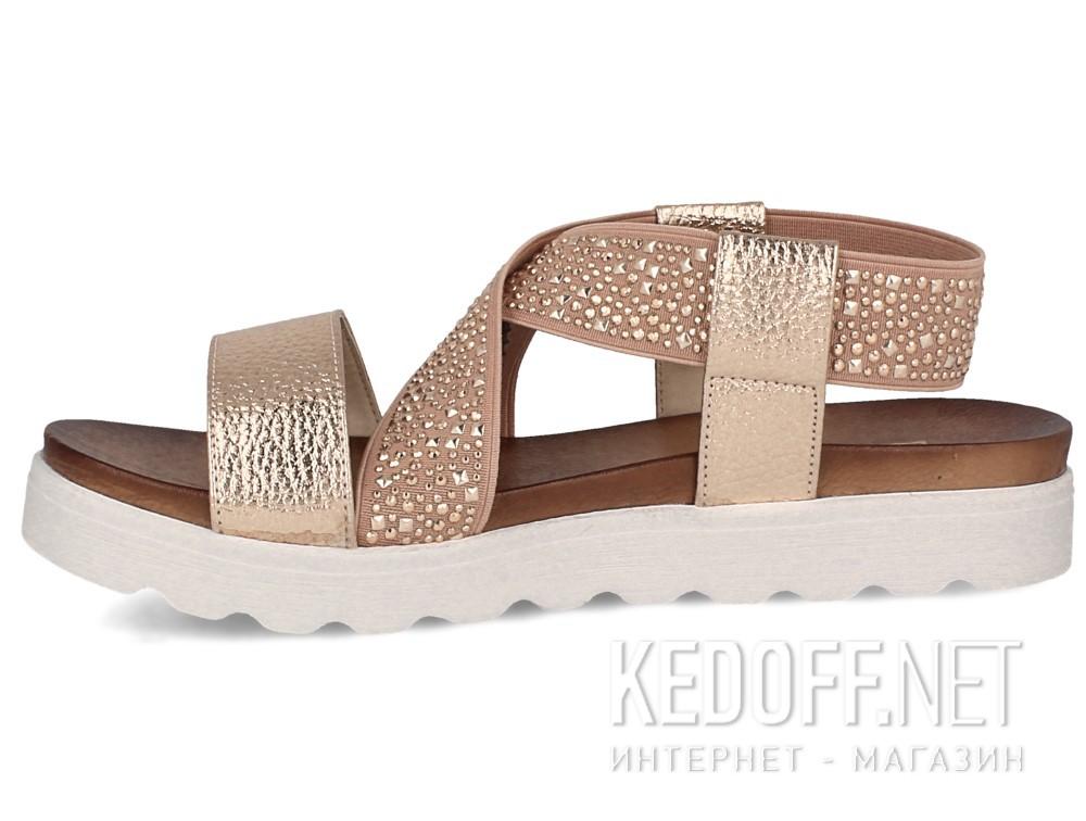 Женские сандалии Las Espadrillas Miss Folx 7908-34   (розовый) купить Украина