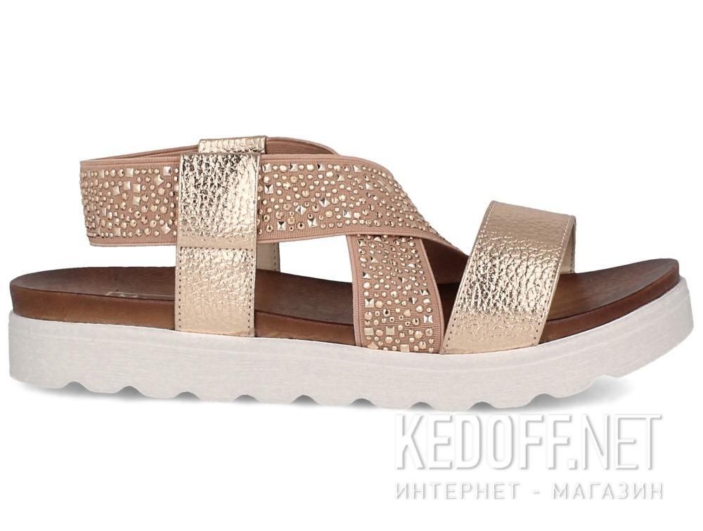Женские сандалии Las Espadrillas Miss Folx 7908-34   (розовый) купить Киев