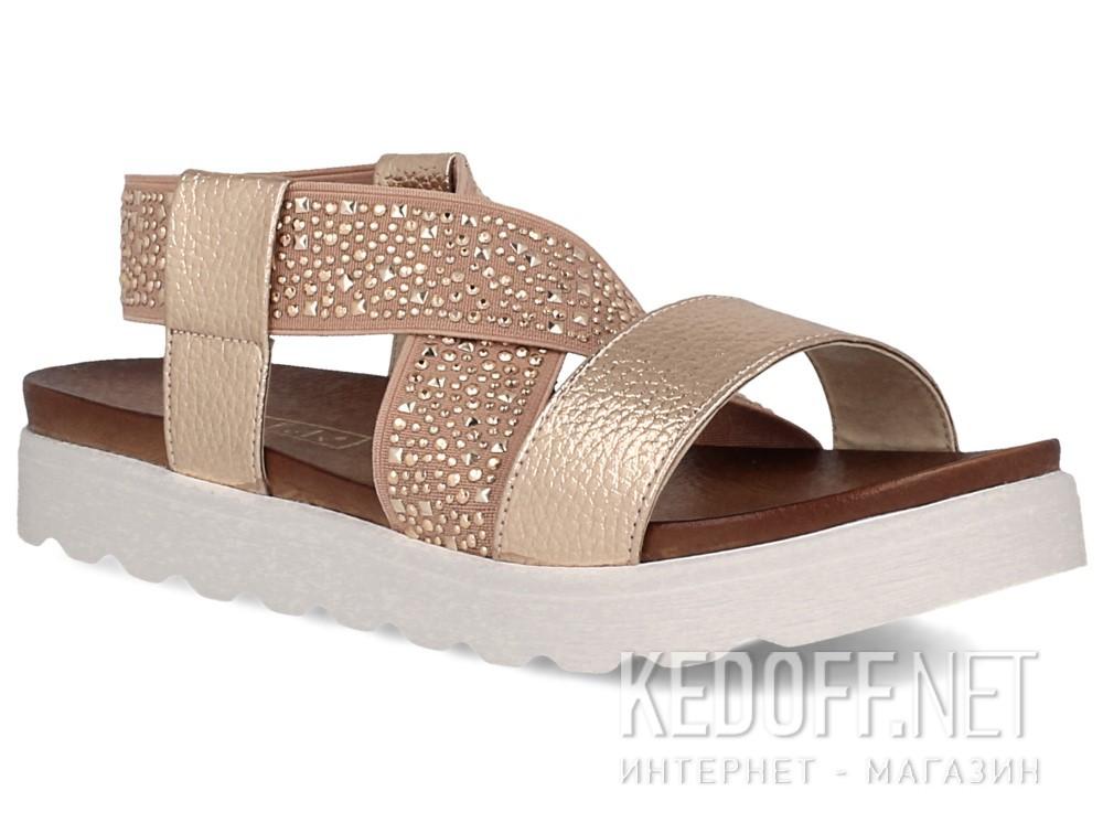 Купить Женские сандалии Las Espadrillas Miss Folx 7908-34   (розовый)