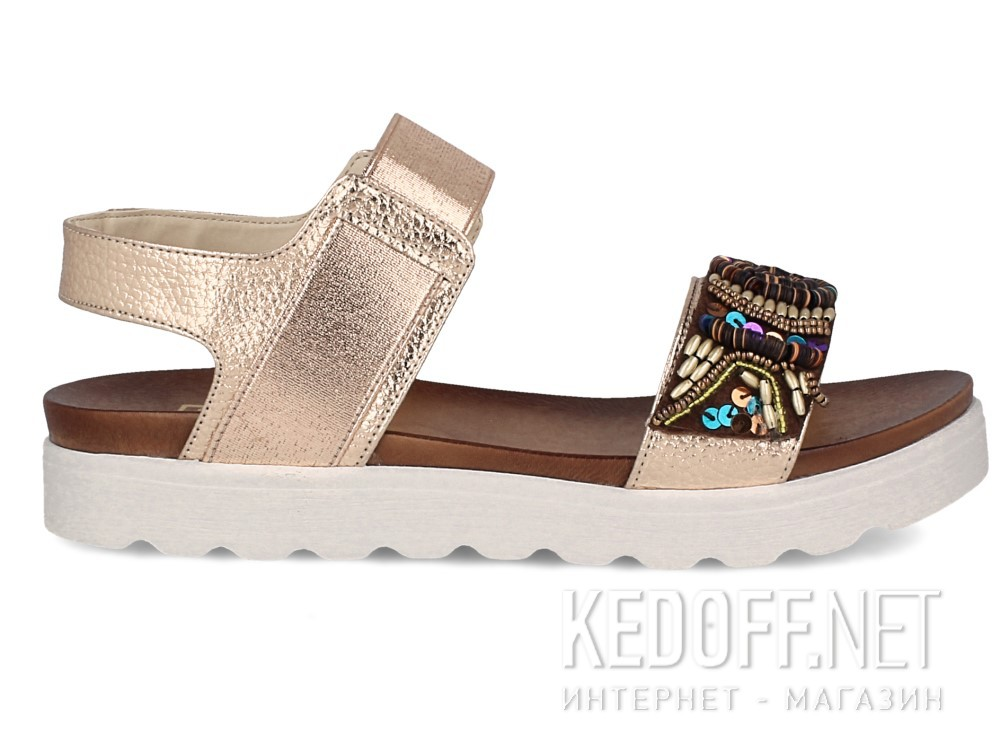 Женские сандалии Las Espadrillas Miss Folx 7909-34   (розовый) купить Украина