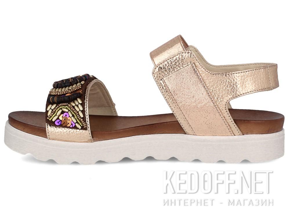 Женские сандалии Las Espadrillas Miss Folx 7909-34   (розовый) купить Киев