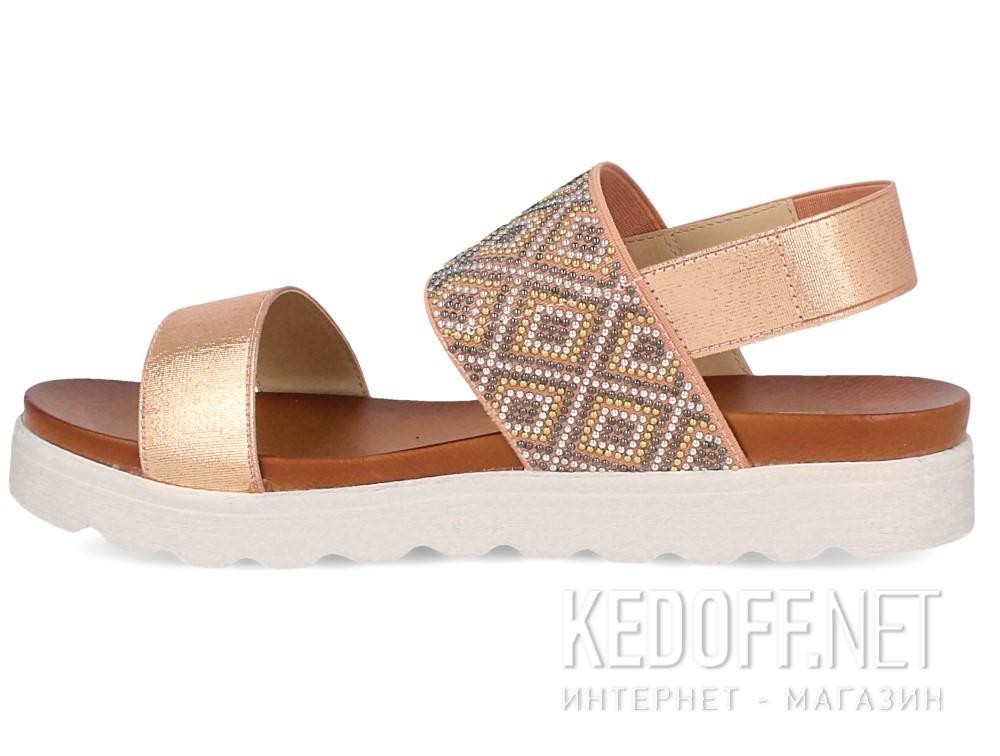 Женские сандалии Las Espadrillas Miss Folx 7912-34   (розовый) купить Киев