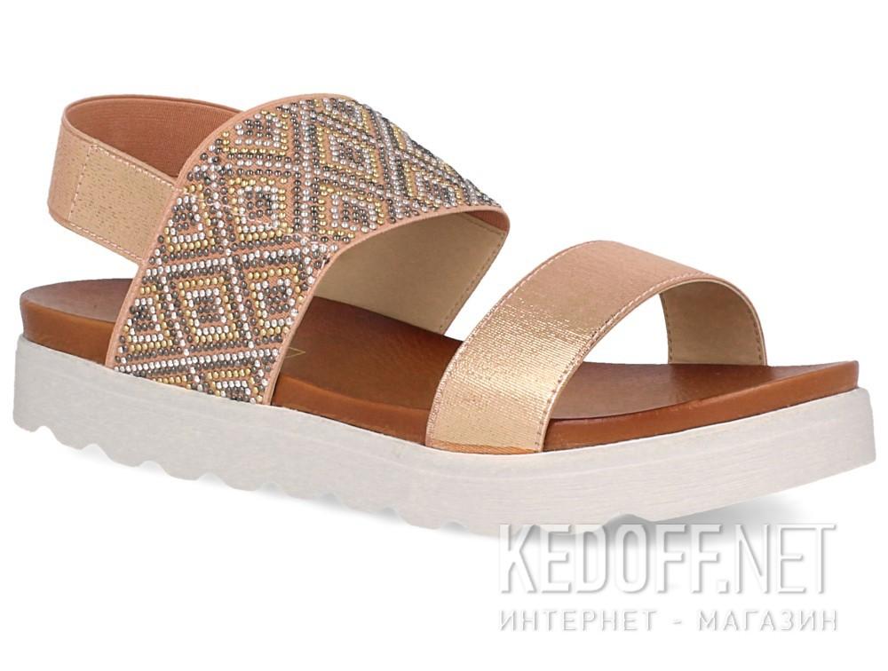 Купить Женские сандалии Las Espadrillas Miss Folx 7912-34   (розовый)