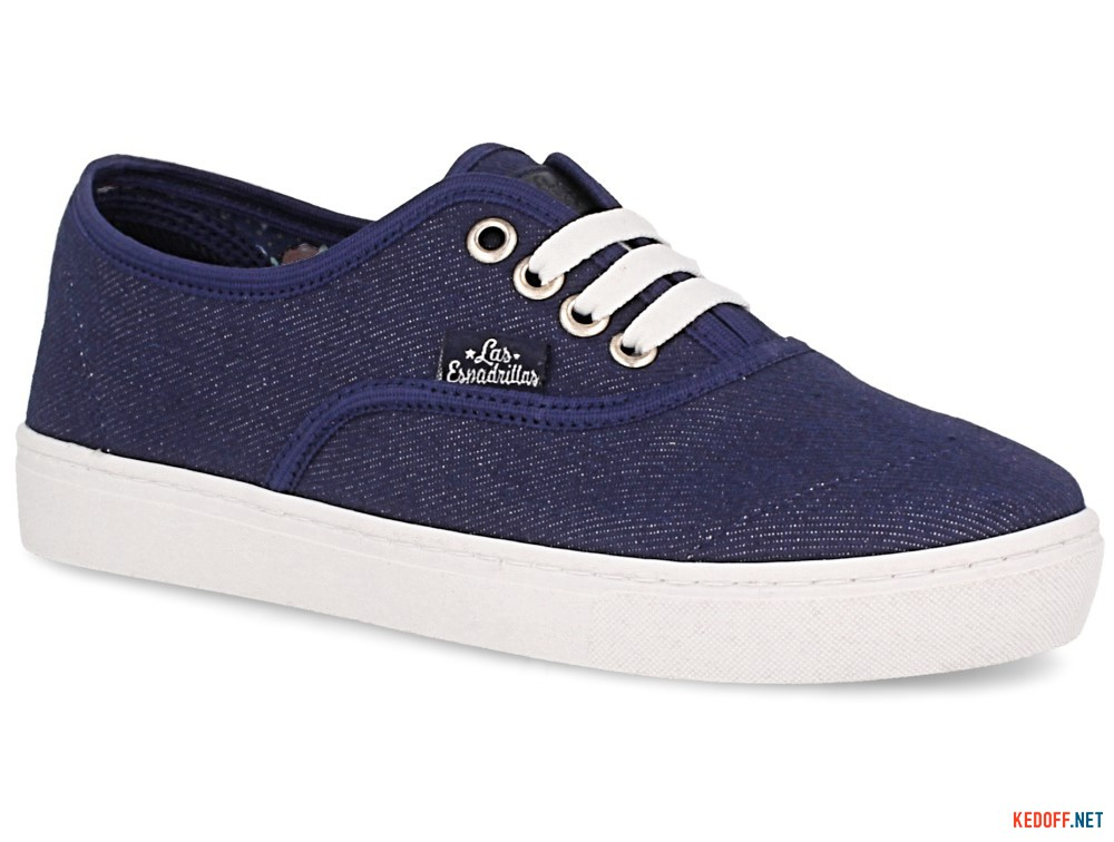 Кеди Las Espadrillas 8214-40 унісекс (Джинс) в магазині взуття ... 69c163328d1da