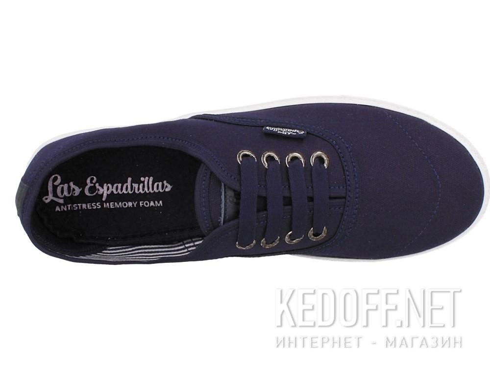 Кеды Las Espadrillas 8214-89 унисекс   (тёмно-синий) описание