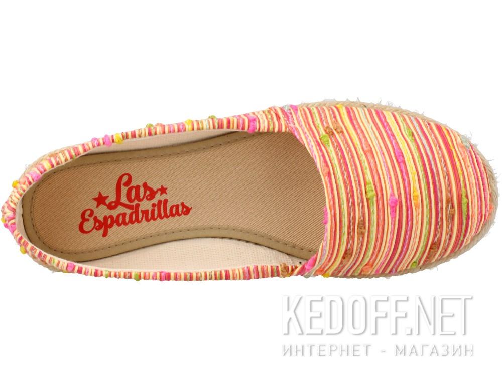 Балетки Las Espadrillas FV7913-4721 унисекс   (красный/жёлтый) купить Киев