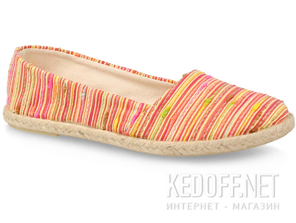Купить Балетки Las Espadrillas FV7913-4721 унисекс   (красный/жёлтый)