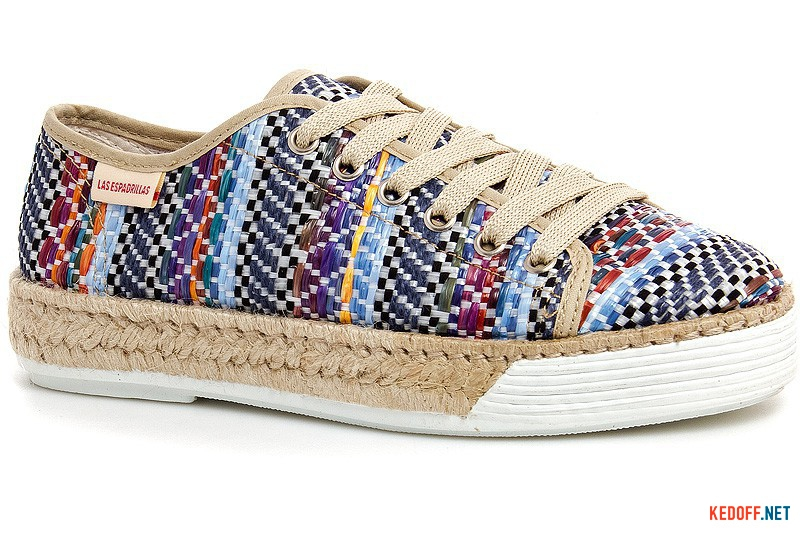 Кеды Las Espadrillas D4240 Made in Spain