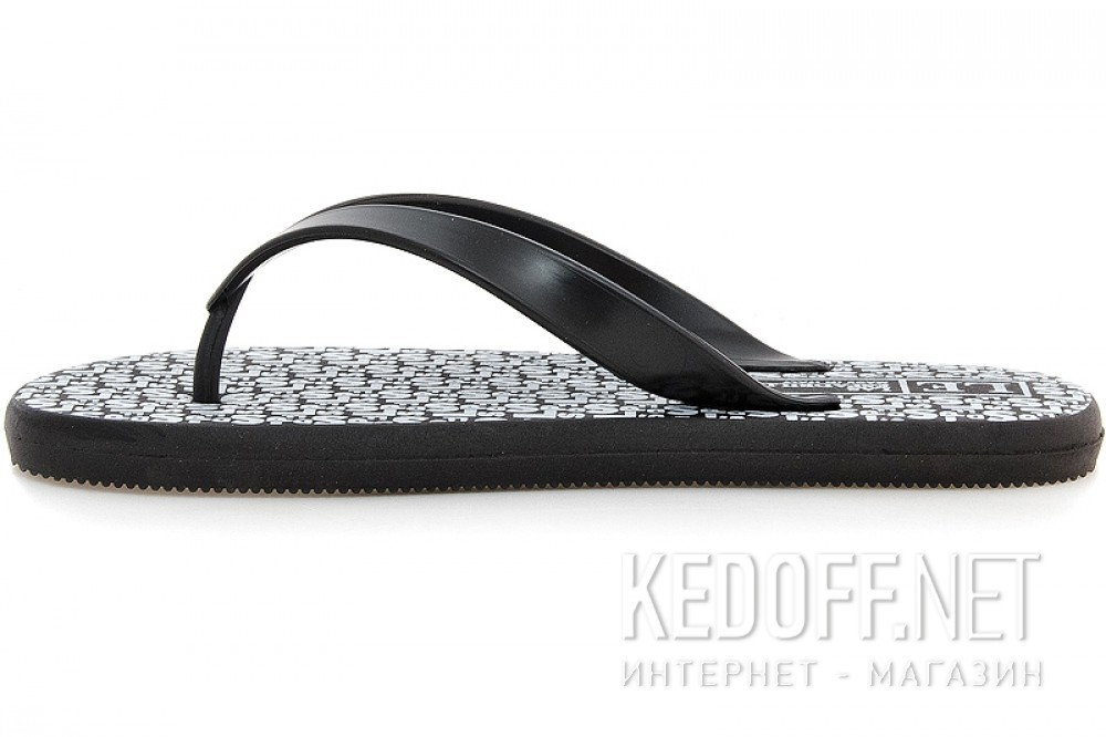 Men's flip flops Las Espadrillas Flip Flops F6574-2713 Made in Italy
