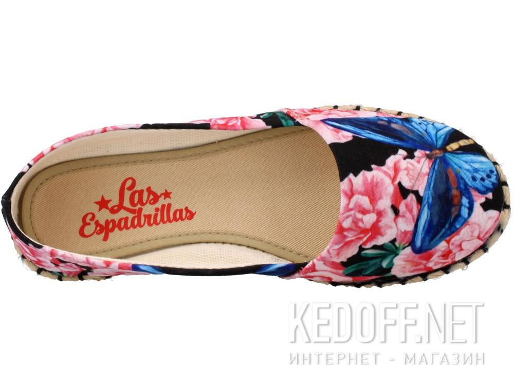 Балетки Las Espadrillas V6905-3489 унисекс   (розовый/синий)