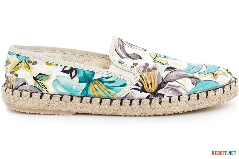 Summer moccasins Las Espadrillas Fv5048-22 made in Spain