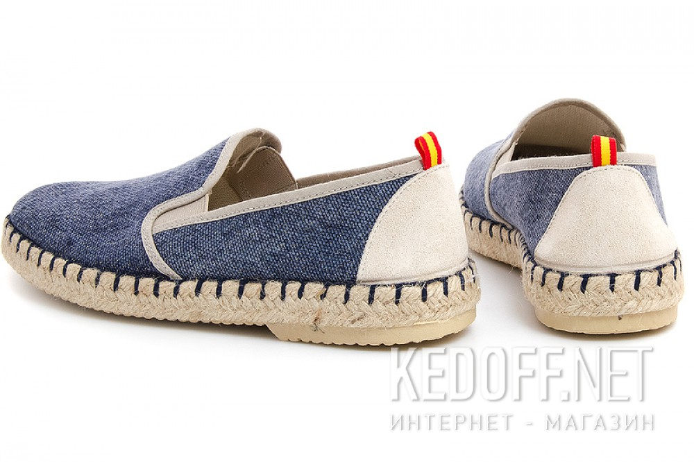 Loafers Las Espadrillas Marino Fv5651-89 Made in Spain