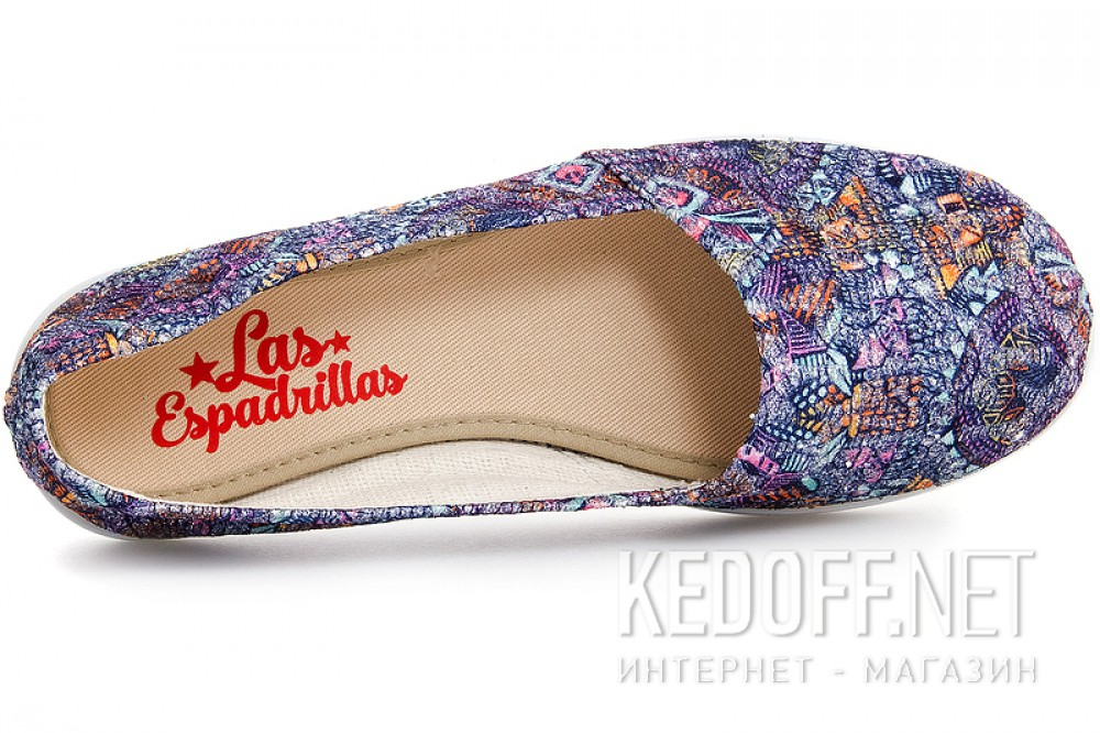 Жіночі балетки Las Espadrillas Multi Kd600-24 Made in Spain