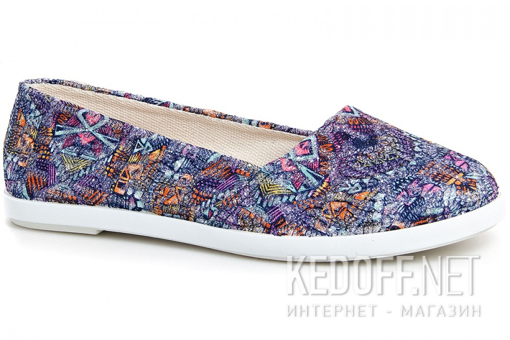 Women's ballerinas Las Espadrillas Multi Kd600-24 Made in Spain
