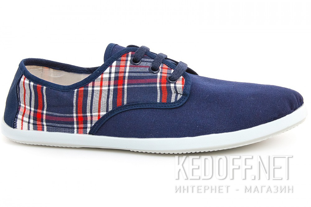 Men's shoes Las Espadrillas Marino Kd608-89 Made in Spain