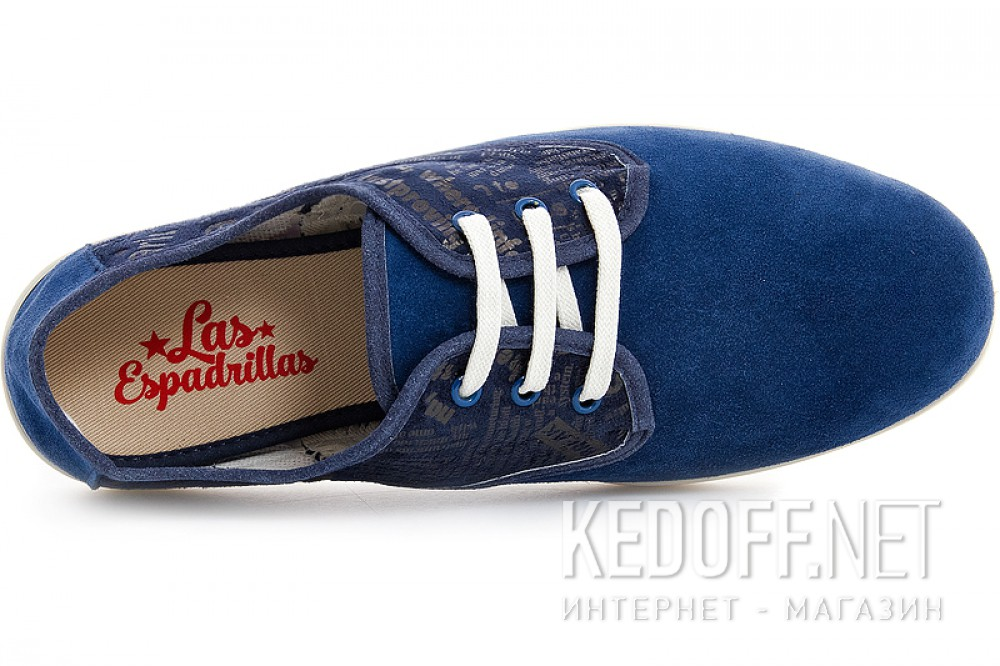Мужские кеды Las Espadrillas Kd613-89 Made in Spain