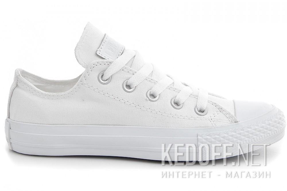 White sneakers Las Espadrillas Mono White Low Le38-116828 ordinary Leather shoelaces