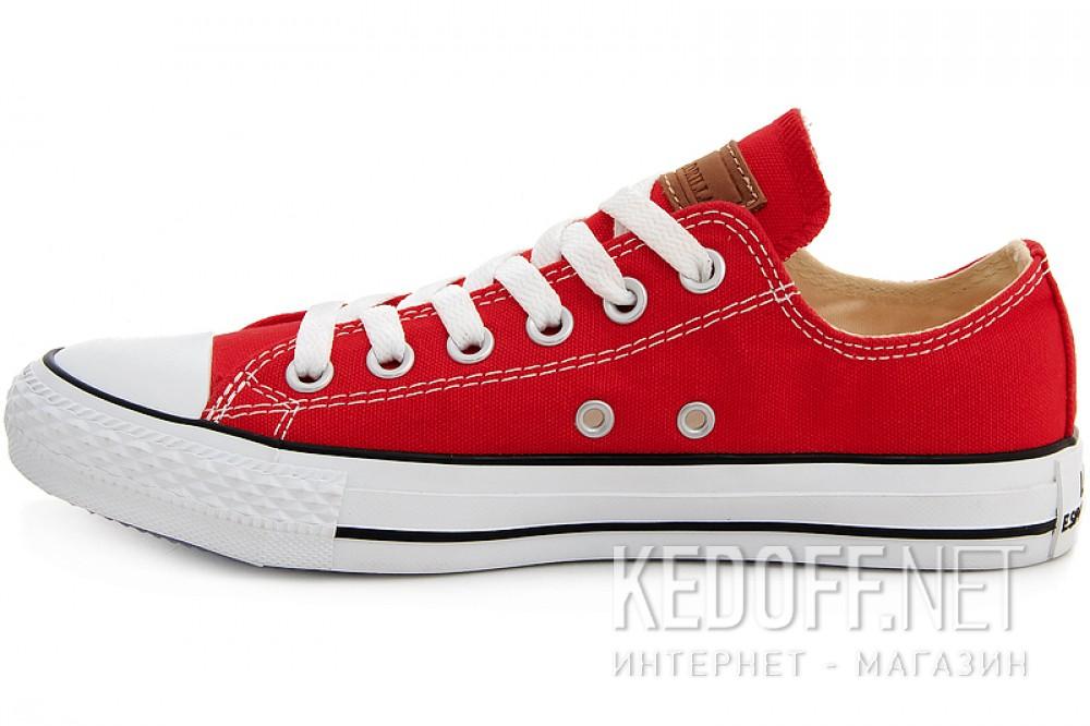 Кеды Las Espadrillas LE38-9696 унисекс   (красный) купить Киев