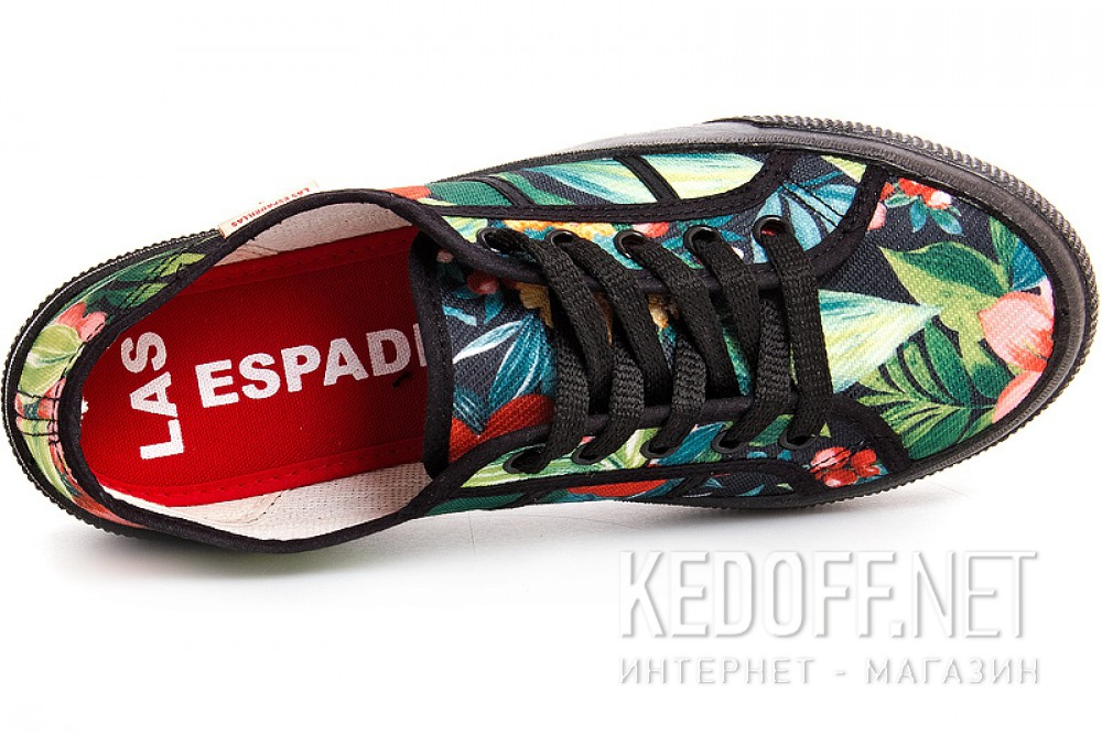 Кеды Las Espadrillas S1327 Made in Spain