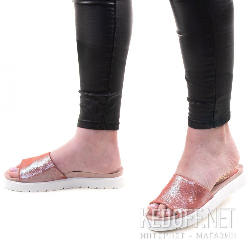 Цены на Тапочки Las Espadrillas Shiny Pink 20423-34