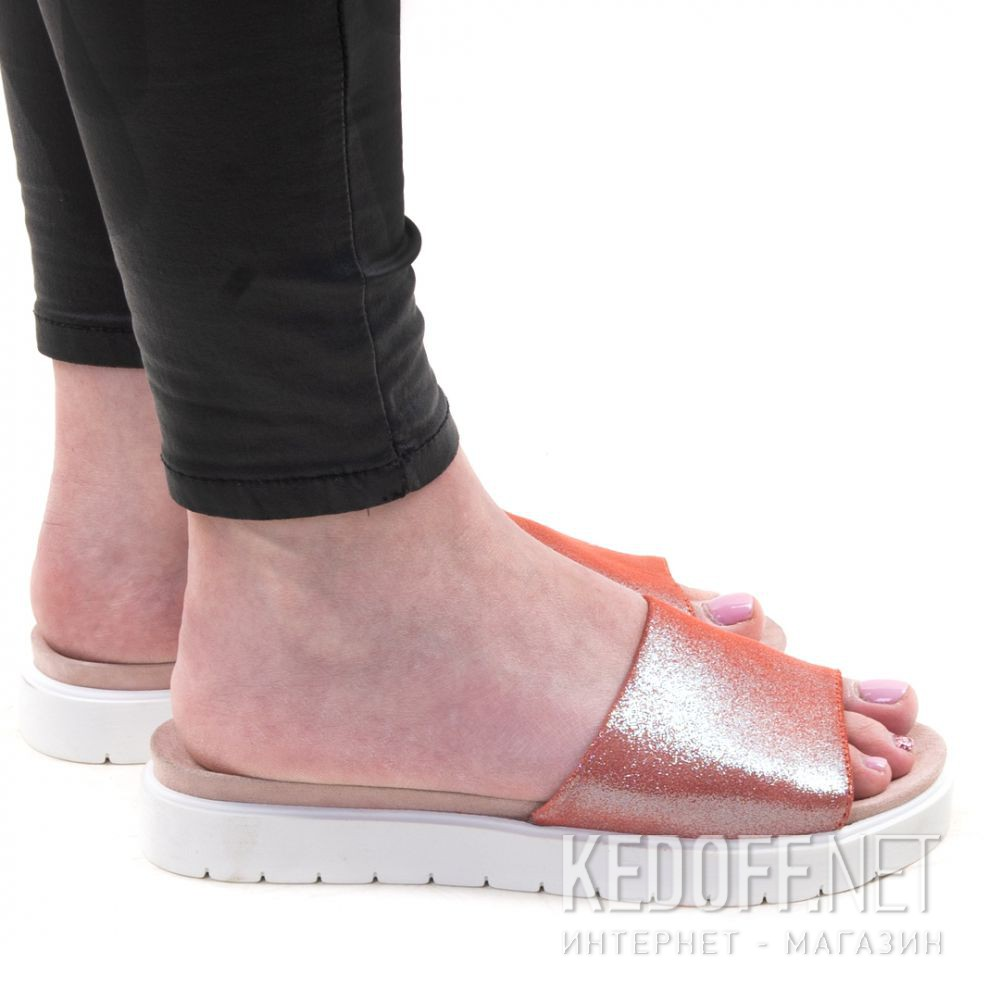 Тапочки Las Espadrillas Shiny Pink 20423-34 все размеры
