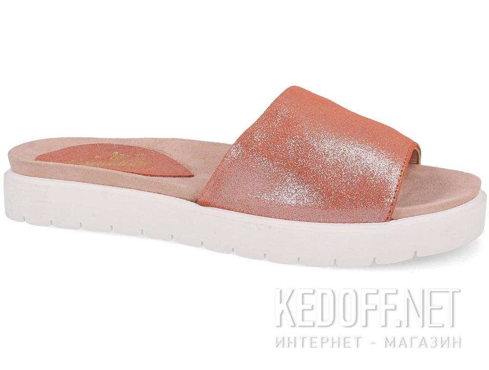 Купить Тапочки Las Espadrillas Shiny Pink 20423-34