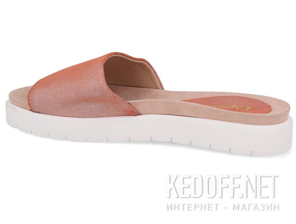 Тапочки Las Espadrillas Shiny Pink 20423-34 купить Украина