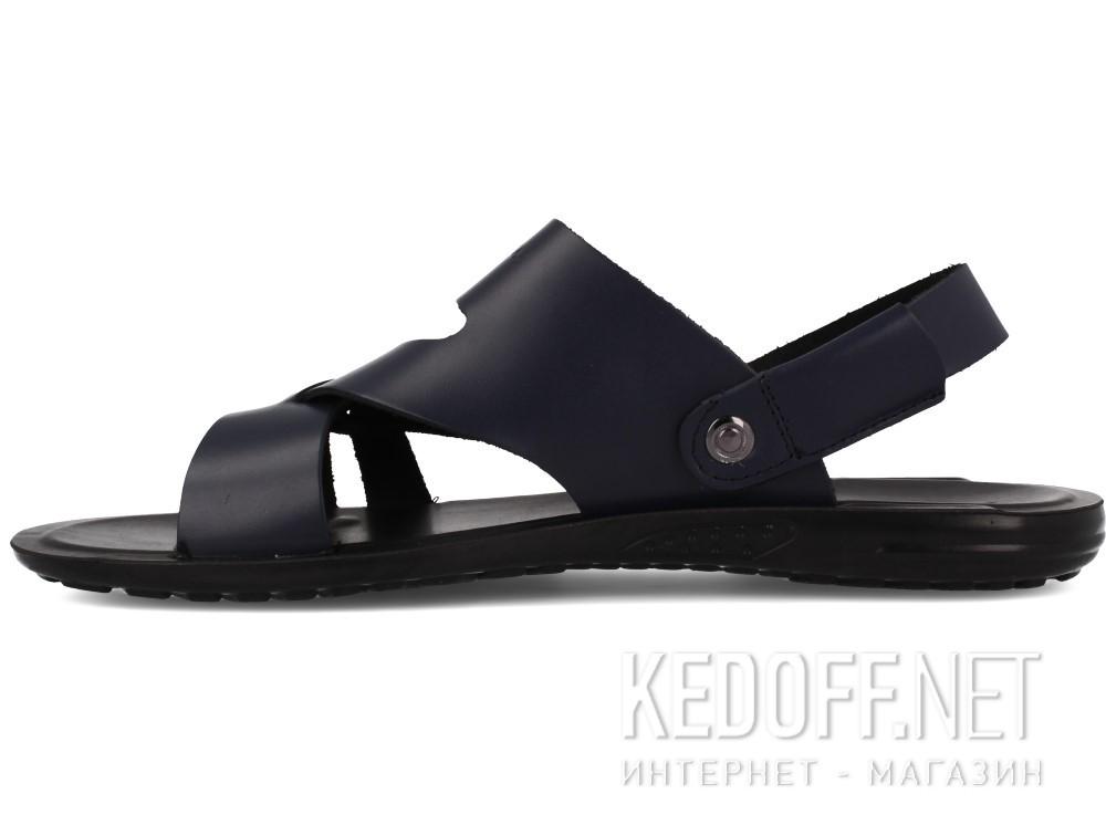 Мужские босоножки Las Espadrillas T016-89   (тёмно-синий) купить Киев