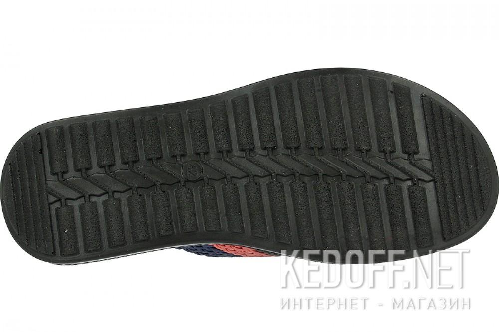 Сланцы и шлепанцы Las Espadrillas T021-27 унисекс   (красный/синий/чёрный) купить Киев