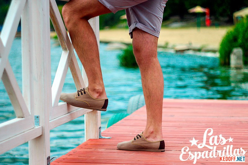 Мужские мокасины Las Espadrillas V4113-18 Made in Spain