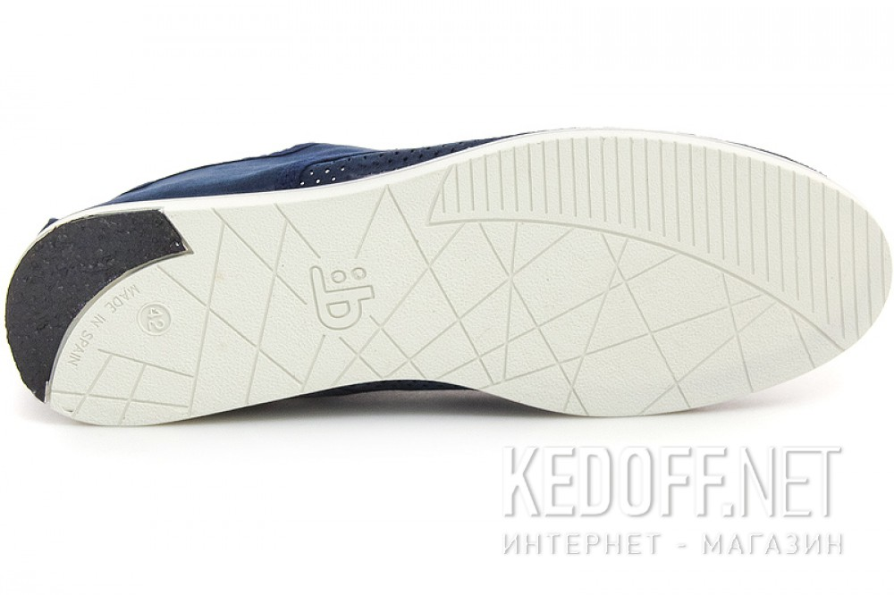 Чоловічі напівкеди Las Espadrillas Marino V4113-89 Made in Spain