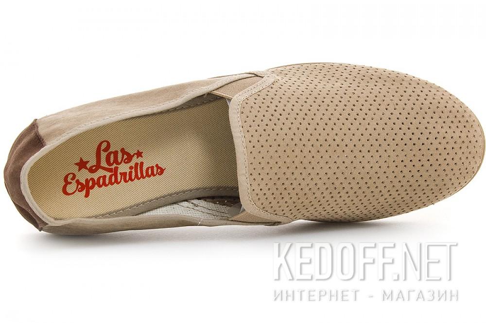 Мужские мокасины Las Espadrillas Tostado V5506-18 Made in Spain